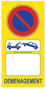 autorisation stationnement déménagement