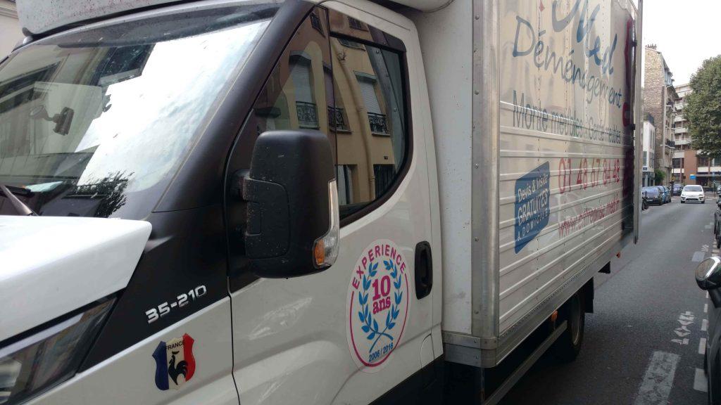 camion pour déménager pas cher Conflans Sainte Honorine