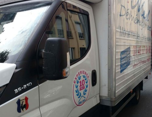 Déménagement et stationnement à Paris