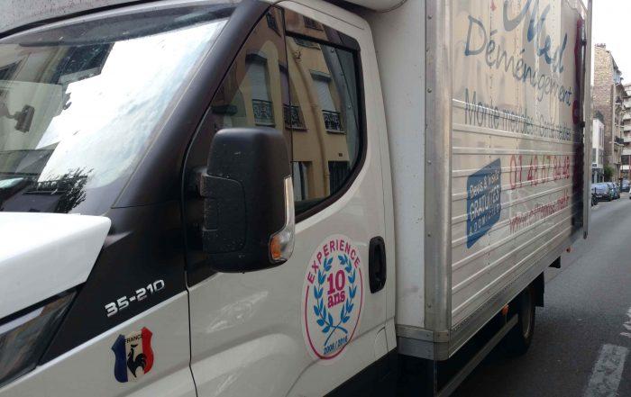 camion pour déménager pas cher